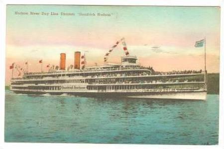 Hudson River Day Line Steamer Hendrick Hudson, 1939 PU