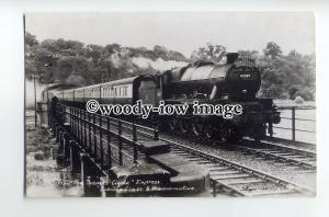 ry1304 - British Railways Engine - no 45589 Gwalior - postcard