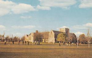 Sports on campus,Albert Co-Ed College , Belleville , Ontario , Canada , 1950s