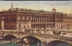 Berlin Berlin Board Of Trade and Friedrichs Bridge
