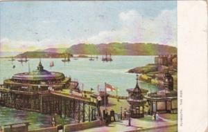 England Plymouth The Pier 1909 Tucks