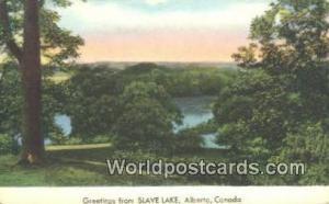 Canada Alberta Slave Lake