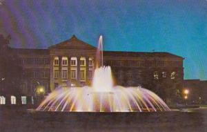 Indiana West Lafayette Loeb Memorial Fountain Purdue University