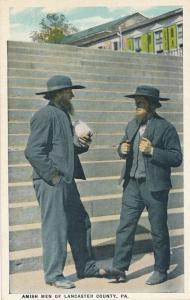 Amish Men of Lancaster County PA, Pennsylvania - WB