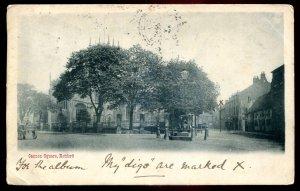 dc1931 - ENGLAND Retford Postcard 1903 Cannon Square
