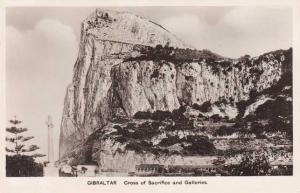 RPPC Cross of Sacrifice at the Rock of Gibraltar