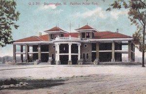 BLOOMINGTON, Illinois, 1900-1910s; Pavilion Miller Park