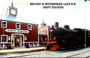 Maine Unity Belfast & Moosehead Railroad Station