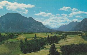 Scenic view, Waterton Lakes National Park,  Alberta,  Canada, 40-60s