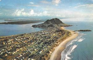 New Zealand Old Vintage Antique Post Card Mt Maunganui Postal Used Unknown, M...
