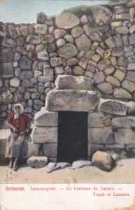Tomb Of Lazarus, Bethanien, Jerusalem, Israel, 1900-1910s