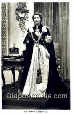 Queen Elizabeth II British Royalty Postcard Postcards  Queen Elizabeth II