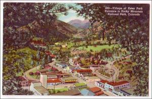 Village of Estes Park, Rocky Mt Nat Park CO
