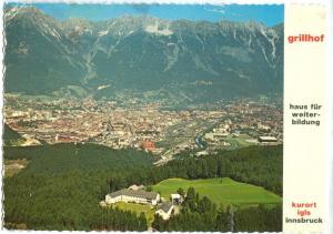 Austria, grillhof, haus fur weiterbildung, 1978 used Postcard