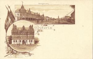 south africa, PRETORIA, Market Buildings, Courthouse (1899)