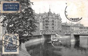 Poland Poznan Most Chwaliszewski Bridge River Boat Bateau Pont