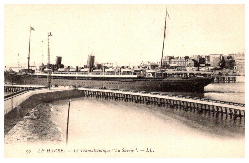 S.S. la Savoie ,  leaving Le Harve