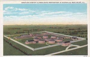 Bird's eye view of Illinois State Penitentiary at Stateville,near  Joliet, Il...
