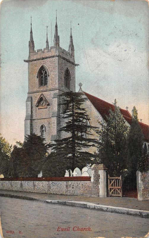 BR79151 ewell church uk
