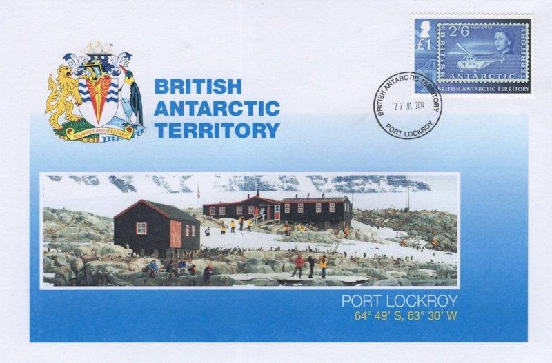 British Antarctic Territory Port Lockroy Research Station FDC