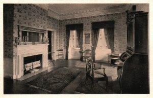 Thomaston, Maine, ME, Montpelier, The Library, Vintage Postcard g2196