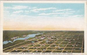 Florida Davenport Home Of The Famous Holly Hill Groves A Panorama View Of Dav...