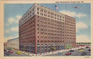 Missouri Kansas City Hotel Muehlbach Curteich