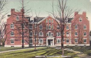 New Hampshire Hanover Wheeler Hall Dartmouth College