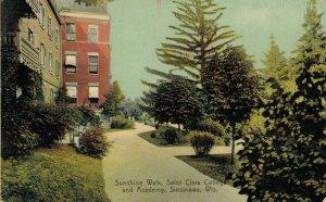 USA Wisconsin Sinsinawa Sunshine walk Saint Clara College and Academy 04.24