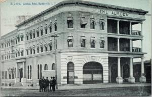 Almeda Hotel Bartlesville Indian Territory Postmark c1907 Postcard E41