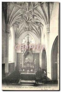 Old Postcard Street Chapel of the Holy Spirit Choir and The Key