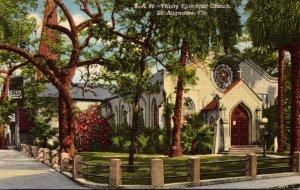 Florida St Augustine Trinity Episcopal Church Curteich