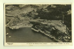 tp5024 - Devon - Aerial View of the Imperial Hotel & Shoreline Torquay- postcard
