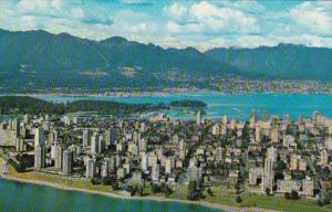 Canada Vancouver Aerial View Looking Northeast