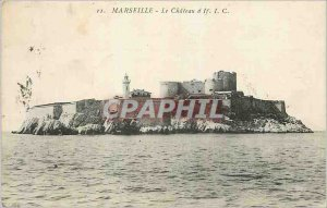 Old Postcard Chateau d'If Marseille