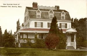 MA - Beverly. New Summer Home of President Taft