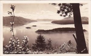 Beautiful Lake Pend Oreitie In North Idaho Real Photo