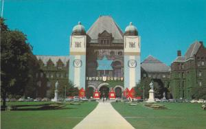 Legislative Building, Ontario Provincial Parliament Buildings In Queen's Park...