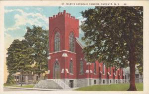 St Mary's Catholic Church , ONEONTA , New York , 00-10s