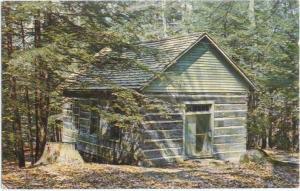 Old Log Church Turkey Run State Park Indiana IN