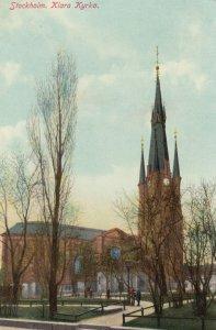 STOCKHOLM ,  Sweden , 1901-07 ; Klara Kyrka
