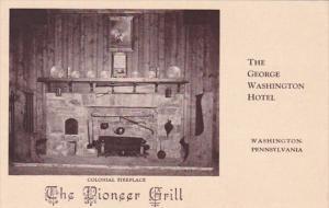 Pennsylvania Washington The George Washington Hotel The Pioneer Grill