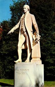 Virginia Charlottesville James Monroe Statue Ash Lawn