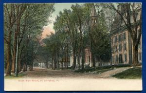 St Johnsbury Vermont vt South Main Street old postcard