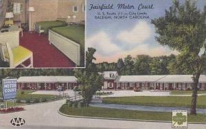 North Carolina Raleigh Fairfield Motor Court