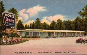 Florida Pensacola Motel Maria U S Highway 90