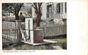 Massachusetts Marblehead    Agnes Surriage Well
