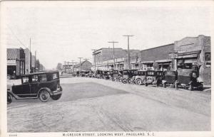 PAGELAND , South Carolina , 1930 ; McGregor Street, West