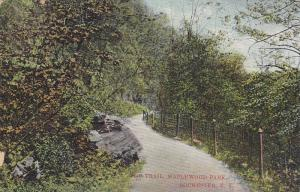 The Trail, Maplewood Park, Rochester, New York, PU-1908