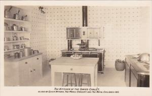 England Isle Of Wight The Kitchen Interior Swiss Chalet At Osborne House Real...